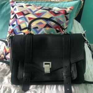 Proenza Schouler ps1 large black handbag